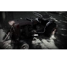 Old Tractor Photographic Print