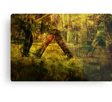 Pedestrians On the Move No.1 Metal Print