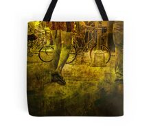 Pedestrians and Bicycles On the Move No.2 Tote Bag