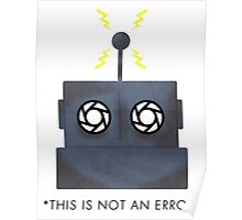 THIS IS NOT AN ERROR Poster