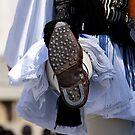 Original Greek guard shoe -Tsarouxi by shelfpublisher
