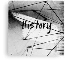 History Canvas Print