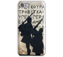 Greek Guards at syntagma sq. Athens iPhone Case/Skin