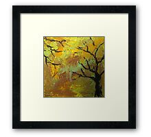 Reaching limbs Framed Print