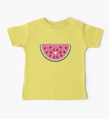 Kawaii Watermelon Slice Baby Tee