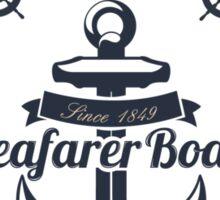 Seafarer Boat Sticker