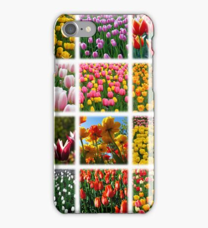 Tulips Montage 1 iPhone Case/Skin