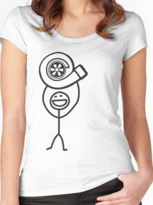 Turbo Guy Women's Fitted Scoop T-Shirt