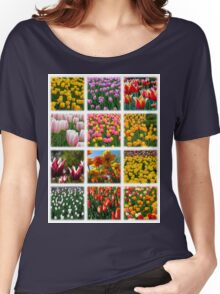 Tulips Montage 1 Women's Relaxed Fit T-Shirt