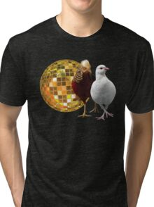 Disco Birds Tri-blend T-Shirt