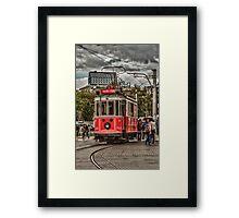 Nostalgic Tram Framed Print