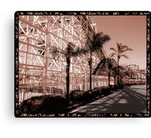 This World Is A Roller Coaster Canvas Print