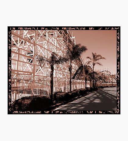 This World Is A Roller Coaster Photographic Print