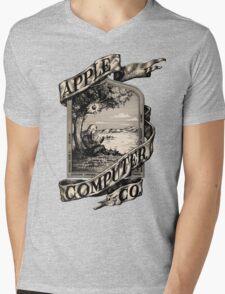 Apple Computer Co. | First logo Mens V-Neck T-Shirt