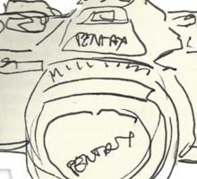 I love my Pentax. Sticker