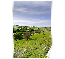 Lathkill Dale and Fern Dale to Monyash  Poster