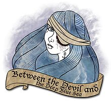Between the Devil and the Deep Blue Sea  by hoshi-kou