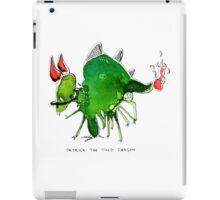 Patrick the timid dragon iPad Case/Skin