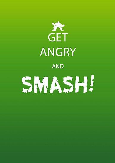 Get Angry and Smash! by Iain Maynard