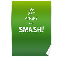 Get Angry and Smash! Poster