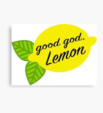 Good God, Lemon Canvas Print