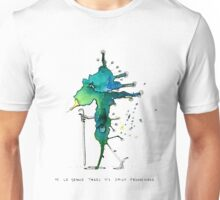 M. Le Grand takes his daily promenade Unisex T-Shirt