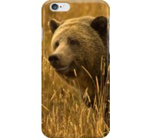 Grizzly Sow-Signed-#1654 iPhone Case/Skin