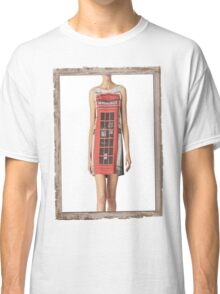 London print - Fashion (telephone box) Classic T-Shirt