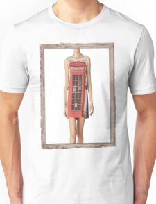 London print - Fashion (telephone box) Unisex T-Shirt