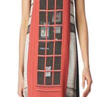London print - Fashion (telephone box) Sticker
