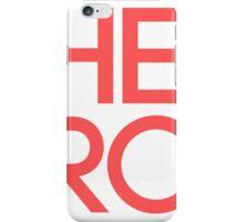 HERO RED  iPhone Case/Skin
