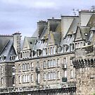 The St.Malo Wall ( 8 ) by Larry Lingard-Davis