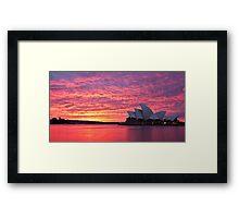 Sublime Sydney Sunrise Framed Print