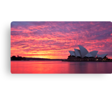 Sublime Sydney Sunrise Canvas Print