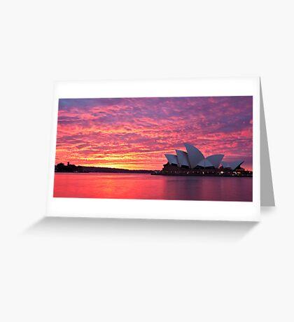 Sublime Sydney Sunrise Greeting Card