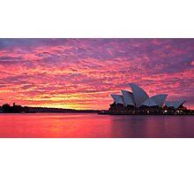 Sublime Sydney Sunrise Photographic Print