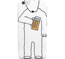 polar beer iPhone Case/Skin