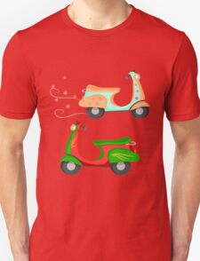 Retro Vintage Scooters T-Shirt