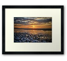 Until the morning, farewell Framed Print