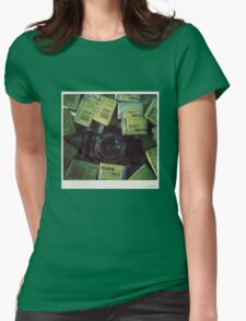 Lomography time Womens Fitted T-Shirt