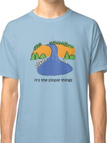 Simple Things - Waterfall Classic T-Shirt
