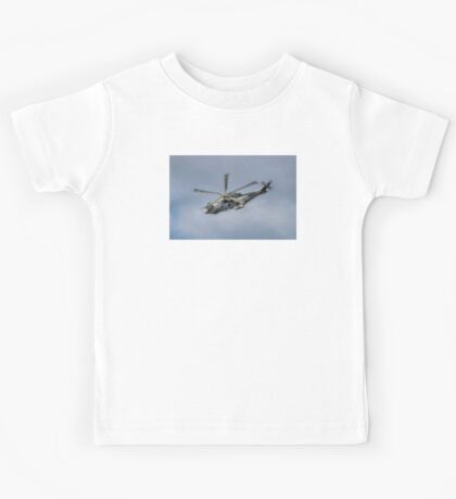 Royal Navy Merlin Helicopter Kids Tee