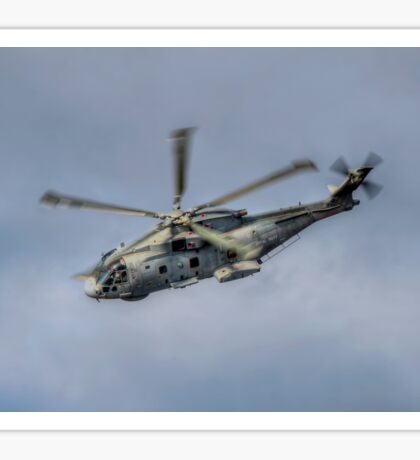 Royal Navy Merlin Helicopter Sticker