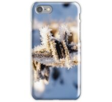 Frosty Barbed Wire iPhone Case/Skin