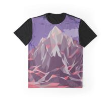 Night Mountains No. 6 Graphic T-Shirt