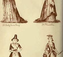 Fancy dresses described or What to wear at fancy balls by Ardern Holt 297 Lady Jane Grey Martha Wilala Louis XIV by wetdryvac