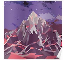 Night Mountains No. 6 Poster