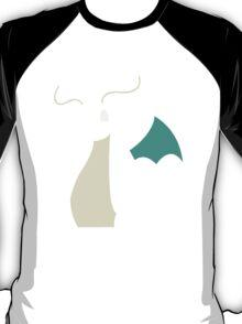 Pokemon Dragonite Outline Tee T-Shirt