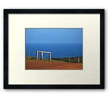 Michael's Lookout Framed Print