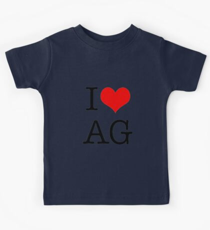 I <3 AG Kids Tee